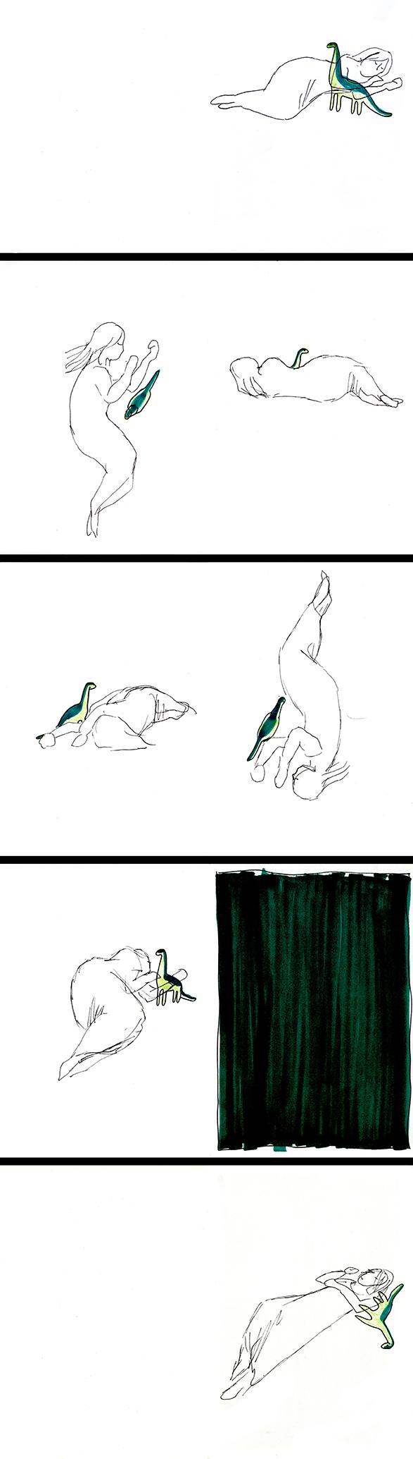 Nukkuminen_dinosaurus_n